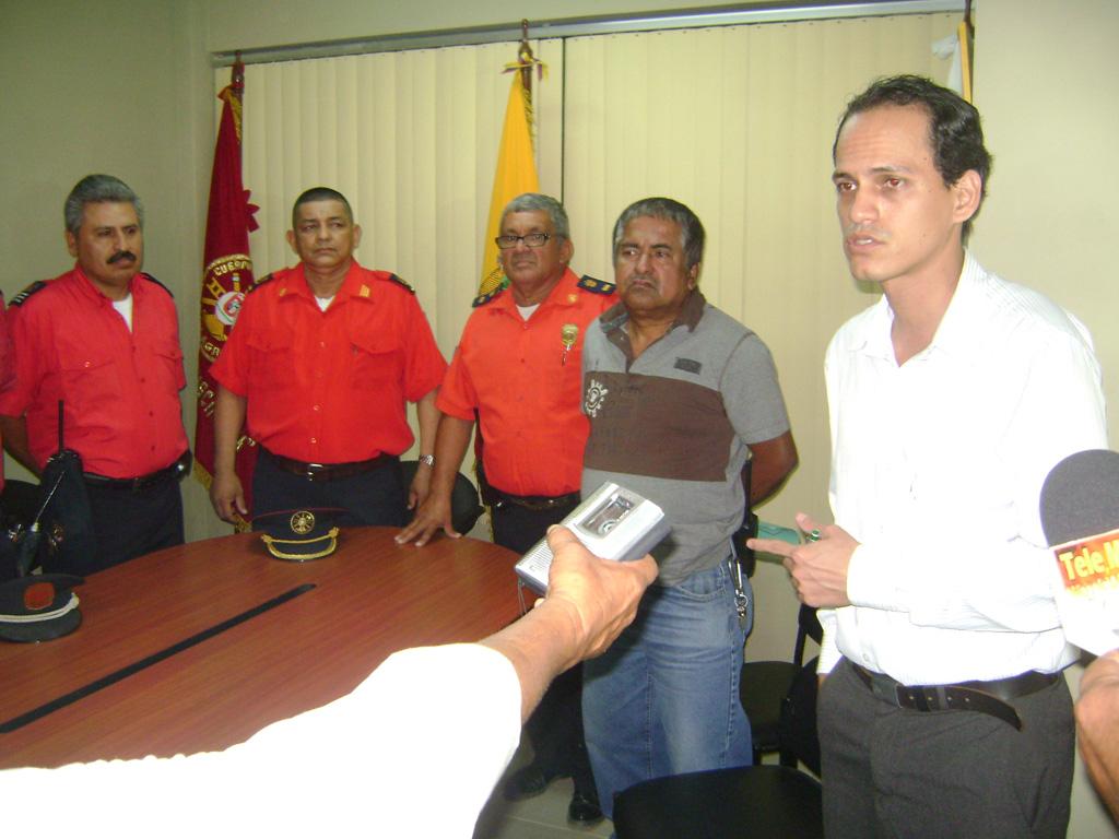 Consejo de Administración y Disciplina destituye a Elvis Vicuña de la Jefatura del Cuerpo de Bomberos de Milagro