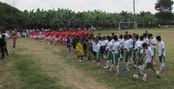 Inaugurada escuela de fútbol en parroquia Mariscal Sucre