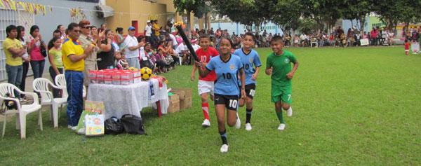 Paulinenses celebraron sus Olimpiadas Deportivas