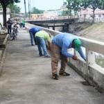 Adecentamiento en Malecón Sucre y limpieza de riberas Estero Las Damas