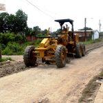 Reconforman ocho cuadras de calle Río Pindo en Bellavista