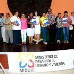 Municipio de Milagro y Miduvi  entregan 138 nuevas escrituras