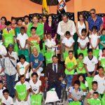 Entrega de kits educativos y  emergentes a 120 beneficiarios