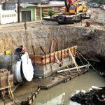 Nueva compuerta en riberas de río  fortalecerá control de inundaciones