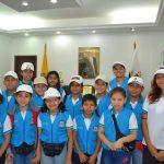 Palacio municipal abre las puertas a Pequeños Guías Turísticos