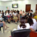 Alcaldesa recibió grata visita de líderes y lideresas estudiantiles
