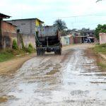 Programa de pavimentación en calles y avenidas del sur oeste