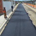 Nuevas calles y avenidas asfaltadas en el suroeste
