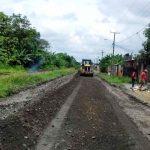 Municipio repara tramo de calle en sector La Matilde
