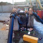 Restablecen servicio de agua en sector oeste