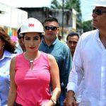 Presidente Correa constató en Milagro desarrollo de obras con crédito estatal