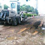Trabajos emergentes en tramos de calle Cuba
