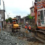 Trabajos de alcantarillado sanitario en La Esperanza y 17 de Septiembre