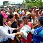 La ayuda humanitaria para damnificados de inundaciones llegó a decenas de sectores