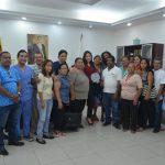 Lideres comunitarios muestran su agradecimiento a la Alcaldesa