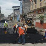 Trabajamos en reestructuración vial de calle Otto Arosemena