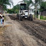 Reconformación vial en ciudadela Las Piñas