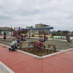 Promovemos el deporte y la integración familiar con nuevos parques