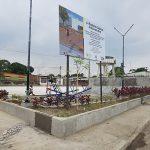 Instalan elementos ornamentales y deportivos en cinco nuevos parques