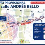 Calle Andrés Bello de doble sentido de  circulación vehicular desde este jueves
