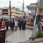 Milagro conmemoró gestas libertarias con momento cívico