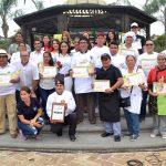 """Feria gastronómica """"Sabores de mi Guayas"""" deleitó el paladar de cientos de milagreños"""