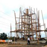 Avanza construcción de monumentos con figuras representativas de Milagro