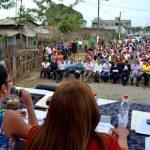 En sesión popular, Concejo Cantonal aprobó declaratoria de utilidad pública de sector Nueva Unida Norte