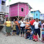 EN MARGARITA 2, ALCALDESA ENTREGÓ CASAS A CUATRO FAMILIAS DAMNIFICADAS DE INCENDIO