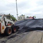 Calle 24 de Mayo intervenida con trabajos de bacheo asfáltico integral