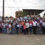 ALCALDESA ENTREGÓ ESCRITURAS Y ACTAS DE PREDIOS QUE BENEFICIAN A CIENTOS DE PERSONAS