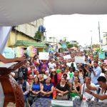 EN ACTO PÚBLICO SE FIRMÓ CONVENIO PARA EL ASFALTADO DE 36 CALLES DEL SUROESTE