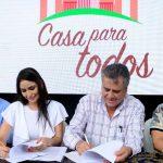 DENISSE ROBLES FIRMÓ SEGUNDO CONVENIO PARA EJECUCIÓN DE 300 SOLUCIONES HABITACIONALES