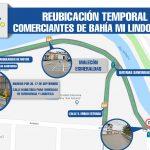 LISTO PLAN DE REUBICACIÓN DE COMERCIANTES DE BAHÍA MI LINDO MILAGRO, POR INICIO DE OBRA