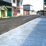 CONSTRUYEN PRIMERAS ACERASDEL PROGRAMA DE ASFALTADO