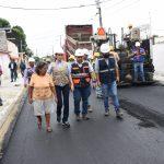 ALCALDESA SUPERVISÓ OBRA VIAL EN LOS VERGELES Y CONSTRUCCIÓN DE BAHÍA Y SALAS DE VELACIÓN