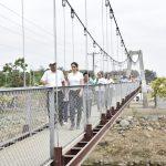 Avanzado el 95% del nuevo puente peatonal y adoquinamiento en Venecia Central