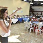 Alcaldesa encabeza actividad de integración y formación de la Red de Comités Barriales