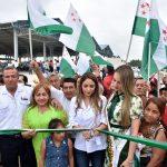 Alcaldesa inauguró moderno mercado de transferencias