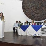 Unidad educativa Anda Aguirre resaltó aporte de alcaldesa en su XLV aniversario institucional