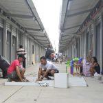 Comerciantes se instalan en la nueva Bahía Mi Lindo Milagro