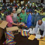 Entrega de kits de seguridad ambiental a personal de Obras Públicas e Higiene