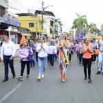 Caminata por Día de la Erradicación de la Violencia Contra la Mujer