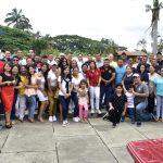 Bomberos celebraron la Navidad con la primera autoridad municipal