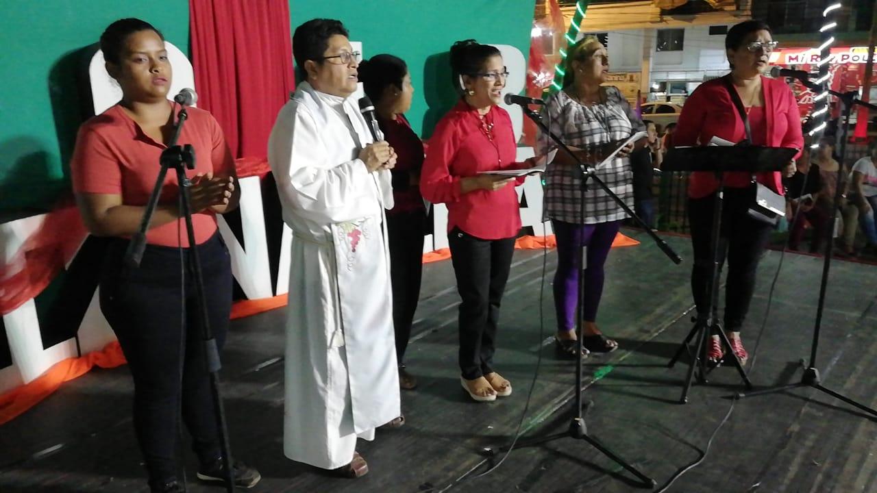 Alcaldía de Denisse Robles celebra la Navidad con el desarrollo de Novena