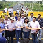 Alcaldesa participó en inauguración de nuevo distribuidor de tráfico en La T-Milagro