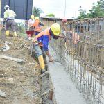 Construyen cimientos de nuevo parque acuático de Las Piñas