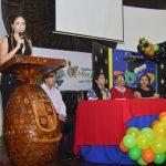 """Denisse Robles felicitó a niños graduados de centro """"El Arca"""""""