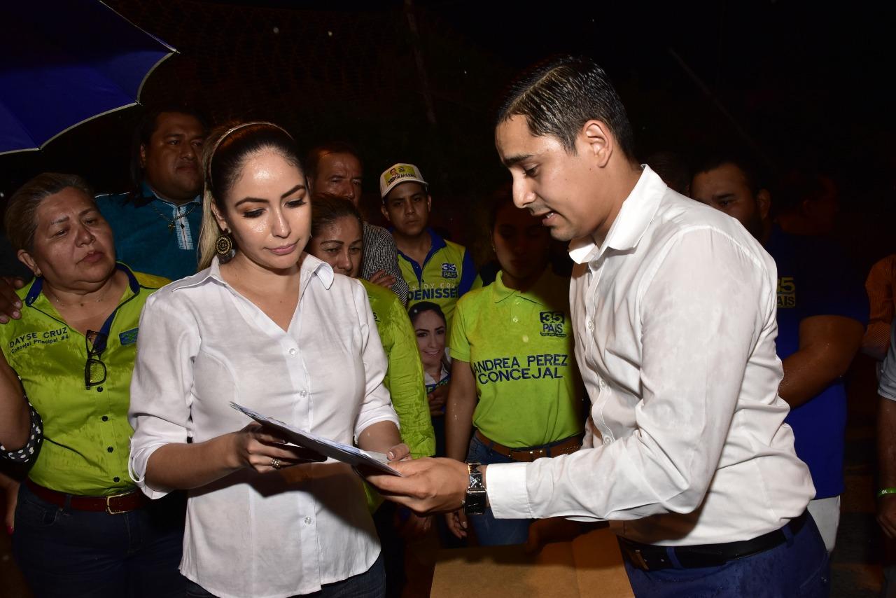 Alcaldesa recibió solicitud de Asociación Deportiva La Puntilla