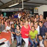 Clubes de bailoterapia municipal realizaron programa de integración